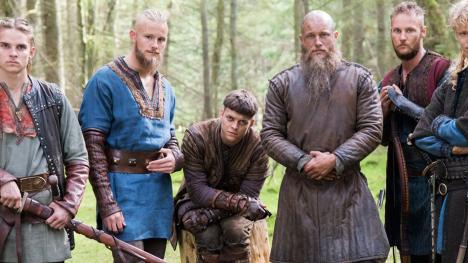Ragnar e hijos - Vikingos