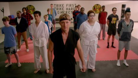 Cobra Kai, serie de Karate Kid