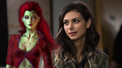 Morena Baccarin y Poison Ivy