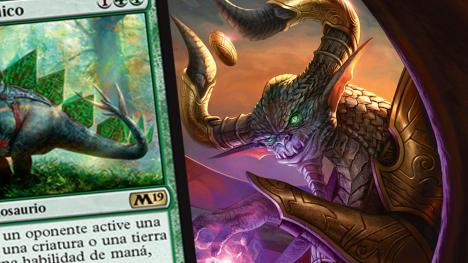Armasaurio Rúnico - Carta exclusiva de la colección M19 de Magic
