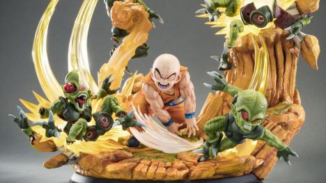 Dragon Ball Figura Krilín Tsume Art