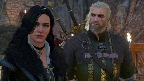 Yennefer y Geralt en The Witcher 3: Wild Hunt