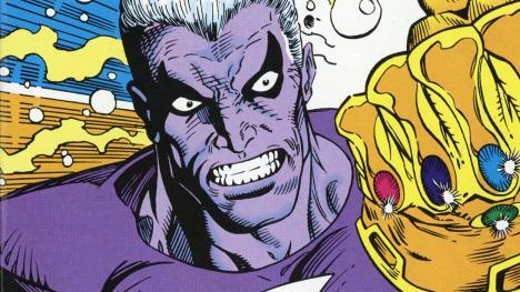 Objetos más poderosos de Marvel - Magus y el Guantelete del infinito