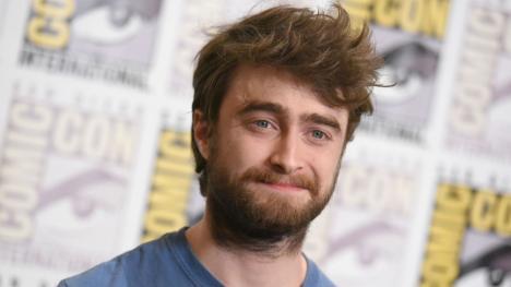 Daniel Radcliffe con barba