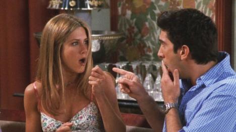 Friends - Rachel y Ross