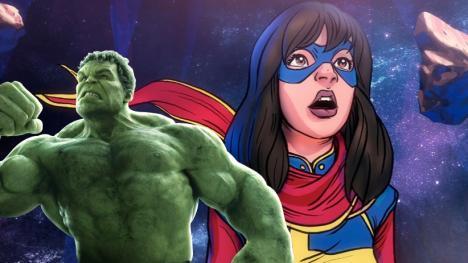 Hulk y Ms Marvel