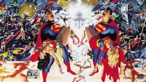 Crisis en Tierras Infinitas cómic DC