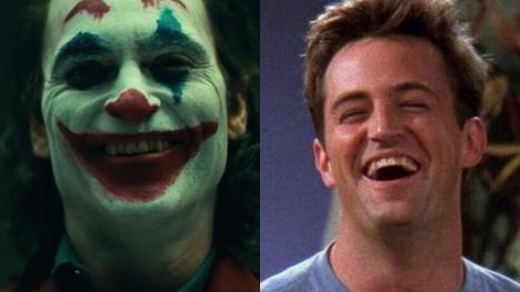 """Joker y su divertida """"inspiración"""" en Chandler Bing de Friends"""