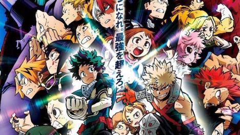 My Hero Academia Heroes Rising