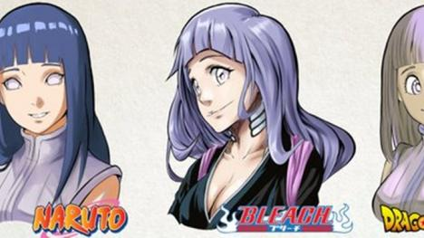 Así sería Hinata, el personaje de Naruto, si apareciera en otros animes