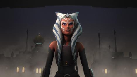 Ahsoka Tano como Fulcrum en Star Wars Rebels