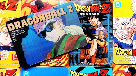 Las cards 3D de Dragon Ball Z