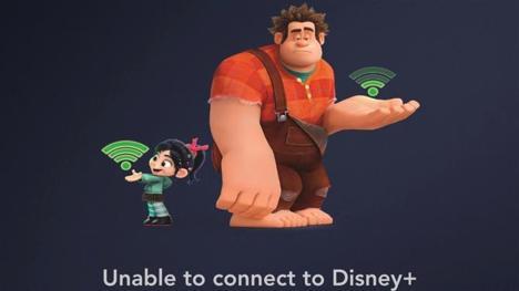 Disney Plus error