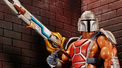 Fusión He-Man y The Mandalorian