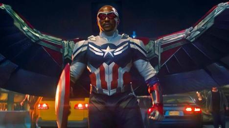 Falcon como el nuevo Capitán América