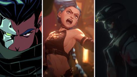 Series animacion anime Netflix