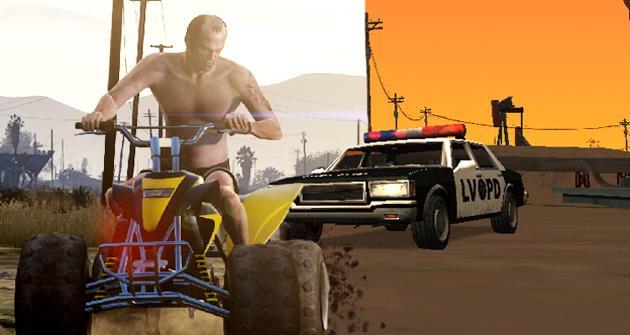 Comparan Gta V Con Gta San Andreas Hobbyconsolas Juegos