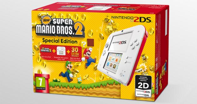 Pack Nintendo 2ds New Super Mario Bros 2 Special Edition