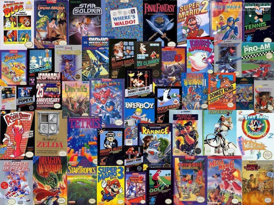 Diez Anos En Caratulas De Nes 1985 1995 Hobbyconsolas Juegos