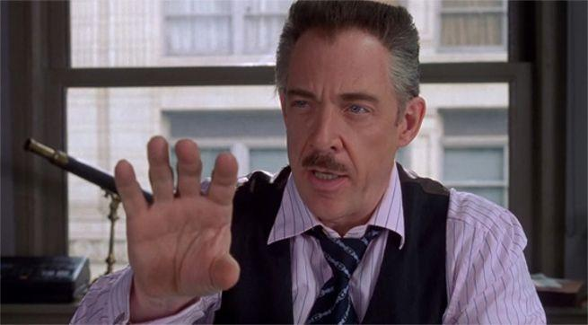j jonah jameson spider man far from home