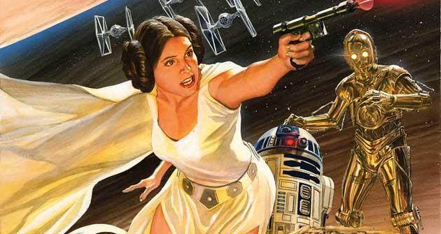 star wars princesa leia avance del cómic hobbyconsolas