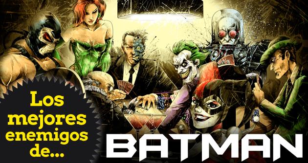 Los Mejores Enemigos De Batman Los Mejores De Top 10