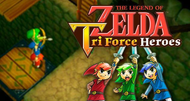 Analisis De Zelda Tri Force Heroes En 3ds Hobbyconsolas Juegos