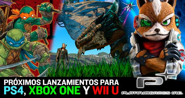 Platinum Games Sus Proximos Juegos Para Ps4 Xbox One Y Wii U