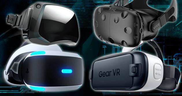 Ps Vr Oculus Rift Htc Vive Gear Vr Las Mejores Gafas De