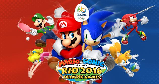 Mario Sonic En Los Juegos Olimpicos Rio 2016 Avance Para Wii U