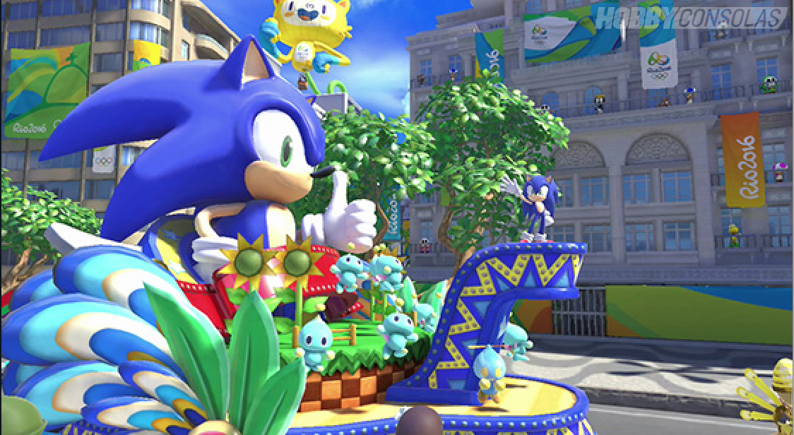 Mario Sonic En Los Juegos Olimpicos Rio 2016 Analisis Para Wii U