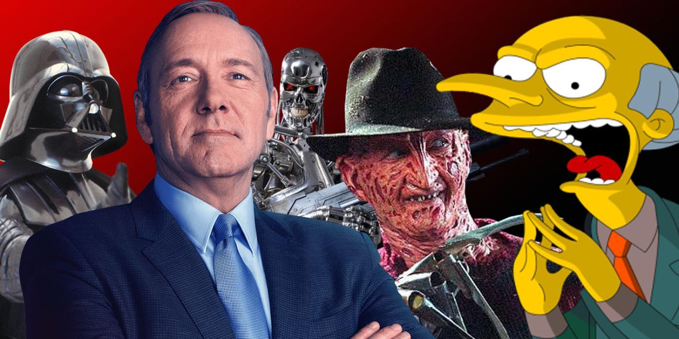 15 mayores villanos del cine y la tv