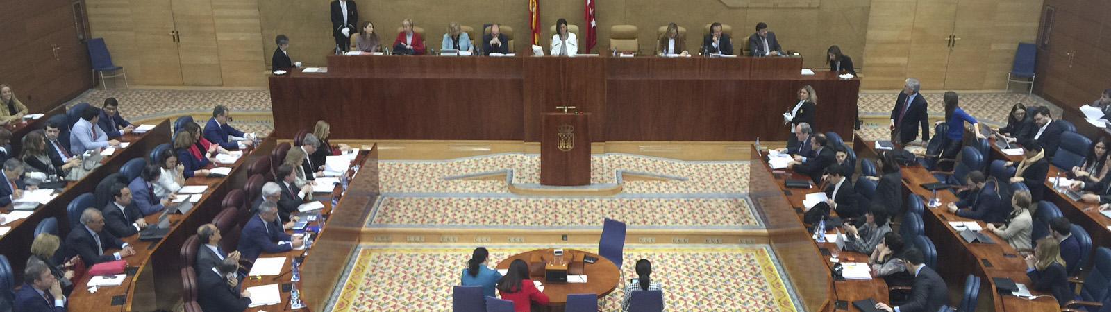 Asamblea de Madrid Proposición no de Ley Ciudadanos