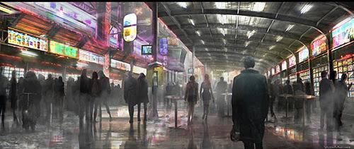 Arte conceptual Blade Runner 2
