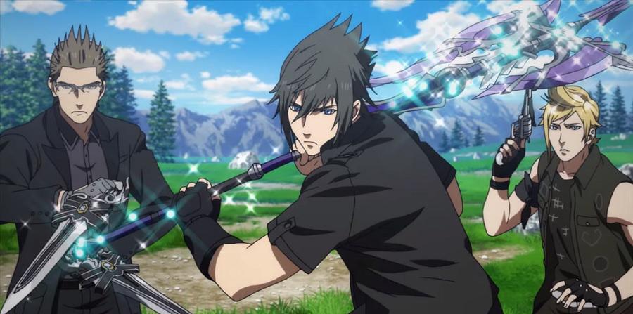 Brotherhood: Final Fantasy XV anime