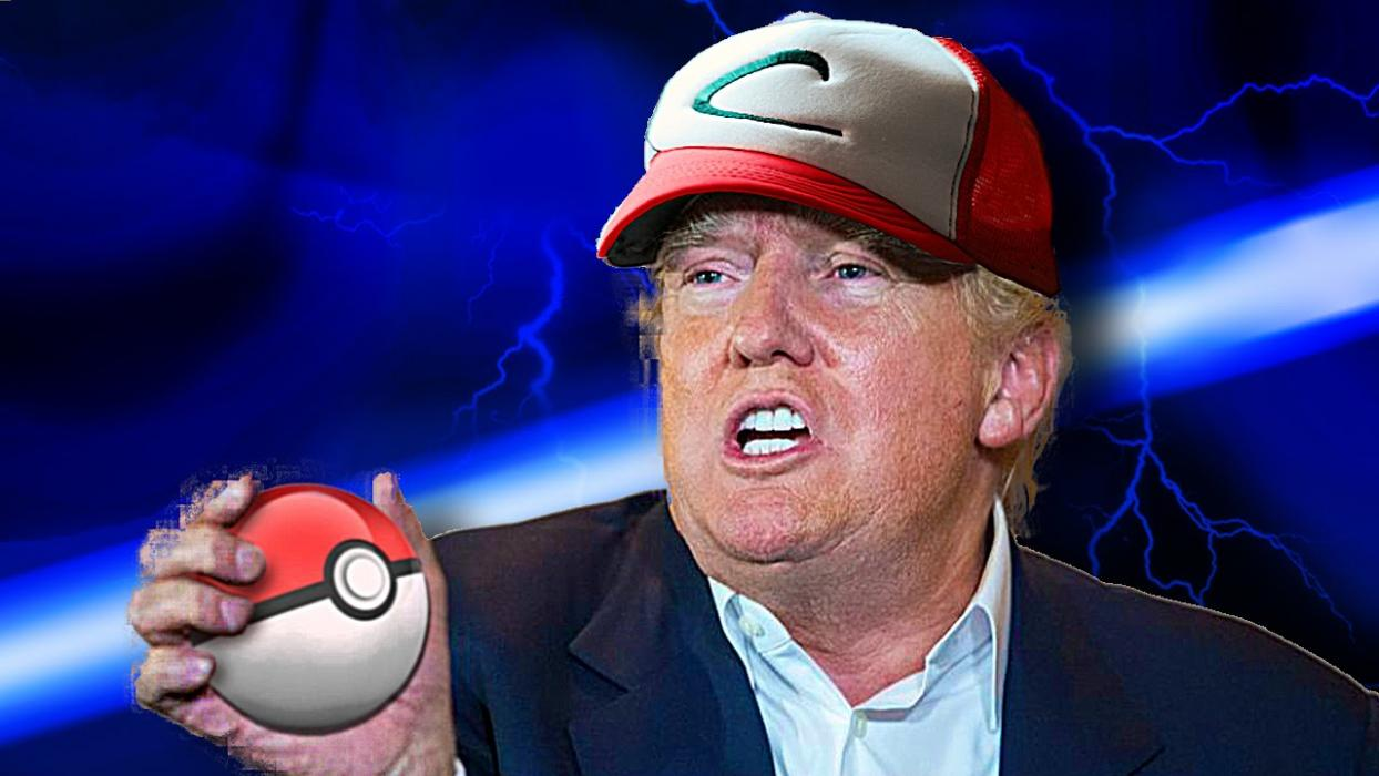 Donald Trump Pokemon Go