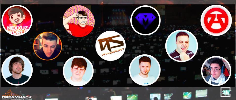 DreamHack Valencia - Youtubers