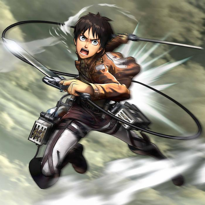Eren Yeager en Attack on Titan Wings of Freedom