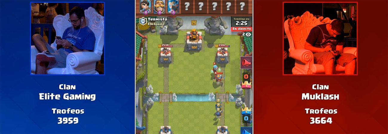 Final torneo Clash Royale