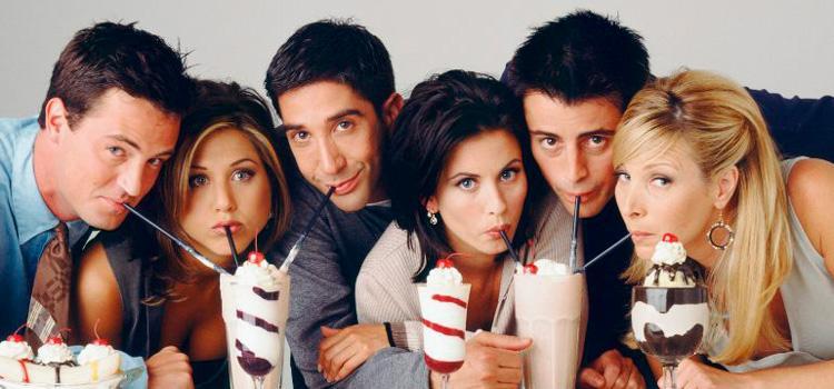 Friends al completo en Netflix a partir del 1 de julio
