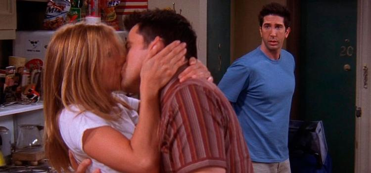 Joey, Rachel. Ross