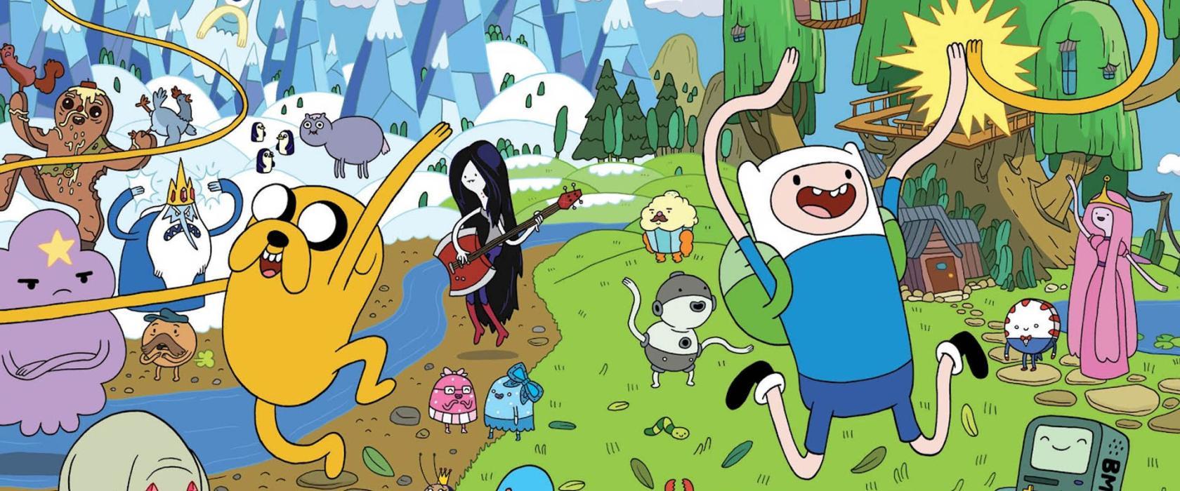 Finn y Jake en Hora de Aventuras