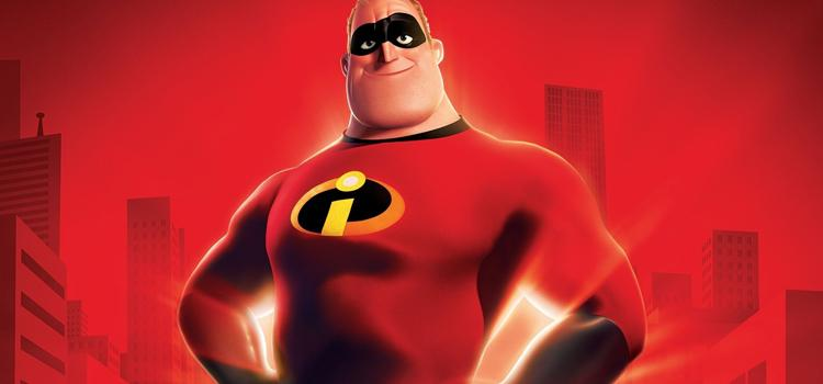 Pixar, Animación, Mr. Incredible