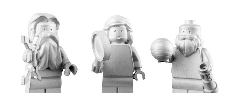 Tres nuevas figuras de Lego viajan a Júpiter