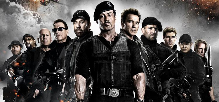 Sylvestre Stallone, acción, The Expendables
