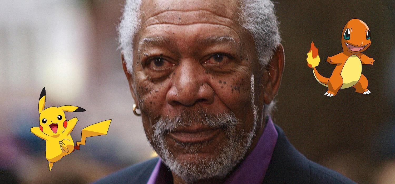 Morgan Freeman - Pokémon GO