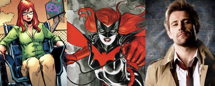 Oracle, Batwoman y Constantine ¿nuevas incorporaciones?