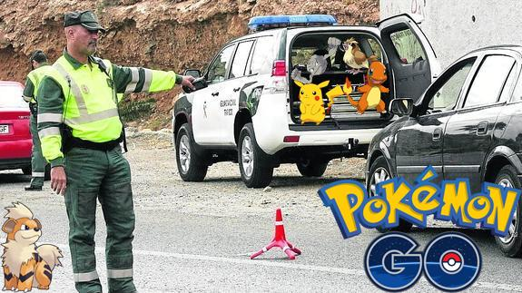 Pokemon Go guardia civil