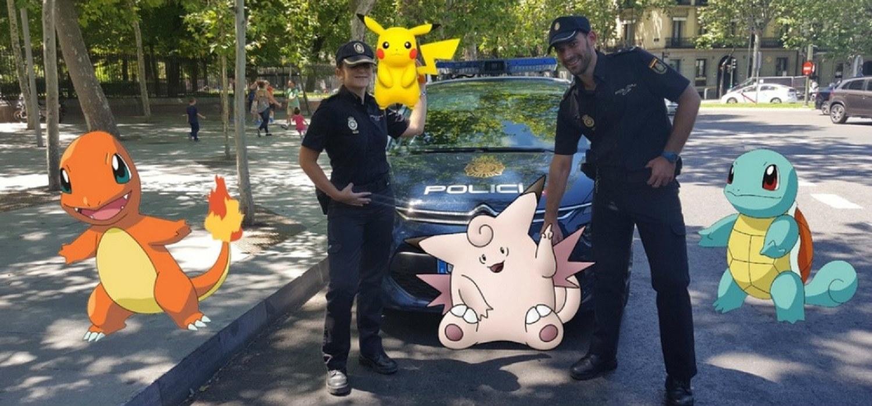 Pokémon GO - Policía Nacional