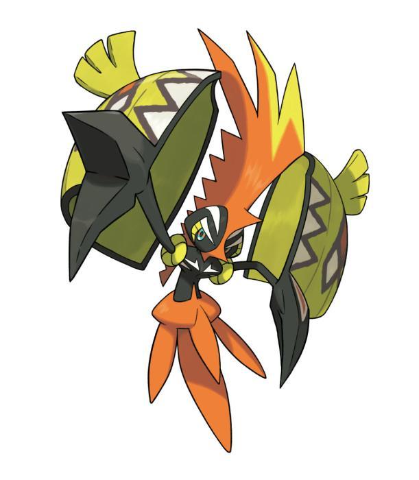 Tapu Koko en Pokémon Sol y Luna